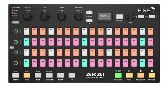 Akai Firegrid Controlador De Hardware Fl Studio - Usado.