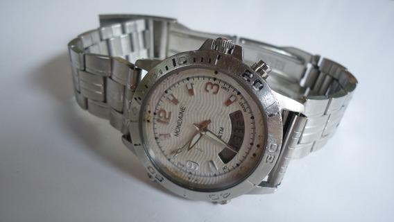Relógio Mondaine 5atm Analogio E Digital Muito Bonito