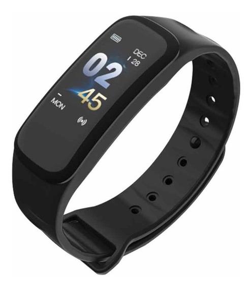 Relógio Smartwatch C1 Plus Monitor Cardíaco Pressão Arterial