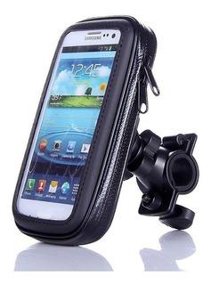 Soporte Holder 360 Moto Bicicleta Celular Gps Mp4 Waterproof