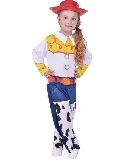 Disfraz Toy Story Vaquerita Jessie C/luz Y Sombrero New Toys