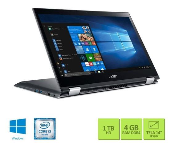 Notebook Acer Spin Sp314-51-31rv Core I3 / Memória 4gb / Hd