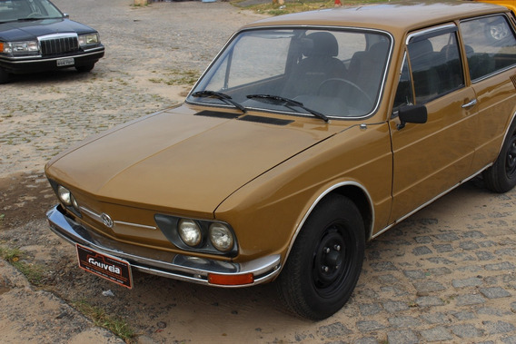 Brasilia Vw Volkswagen 1976 Original Muito Conservada