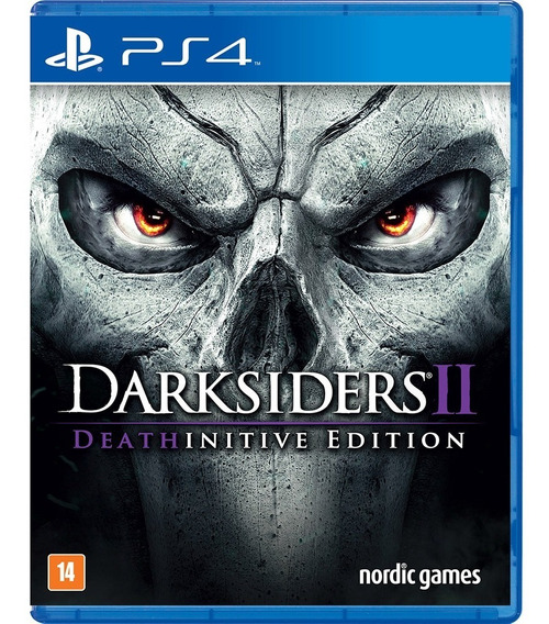 Darksiders 2 - Ps4 Psn Code 2 Env Já!