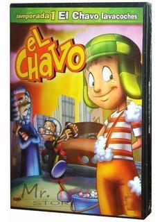 Dvd El Chavo Del Ocho Serie Original El Chavo Lavacoches