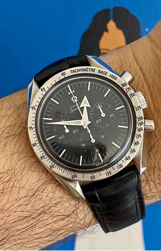 Relógio Omega Speedmaster Broad Arrow