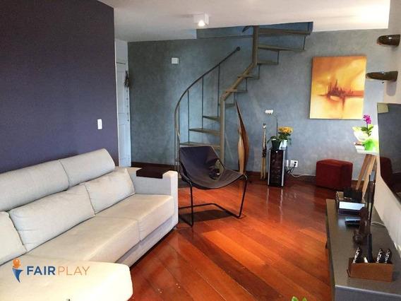 Apartamento Locação Brooklin 2 Dorm 1 Suite 1 Vaga 130m - Ap4770