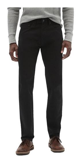 Jeans Hombre Pantalón Mezclilla Slim Straight 283704 Gap