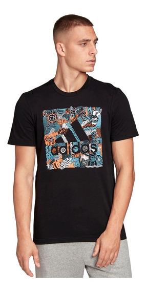 Camiseta Remera adidas Logo Tango Para Hombre Casual Algodón