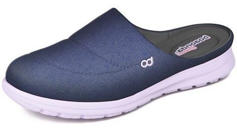 Slip On Sapatênis Tênis Tamanco Jeans Confort Leve Macio