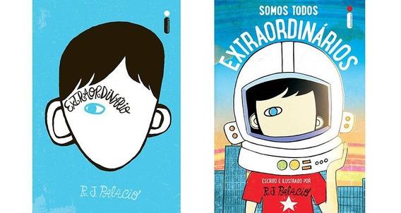 Kit Extraordinário + Somos Todos Extraordinários (2 Livros)