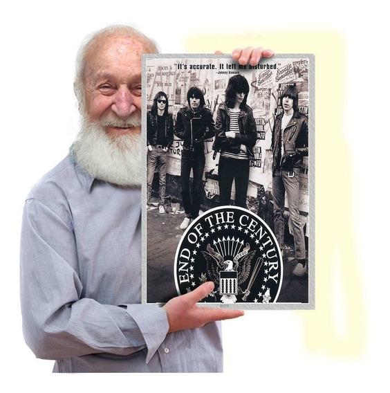 Ramones Poster Quadro Placa Vintage Retrô Rock Tam.a3 07
