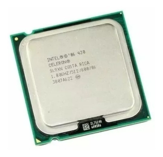 Processador Intel Celeron 430 1.8 Ghz / 512 / 800 / 06