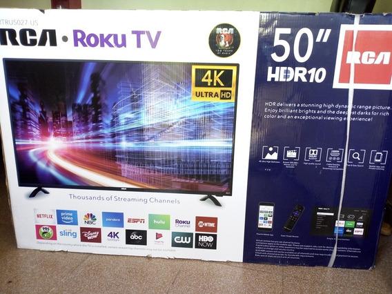 Tv Rca 50 Pulgadas Ultra Hd 4k Roku Smart