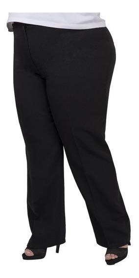 Pantalón Portofem Clásico Con/ Elástico - Talles Grandes