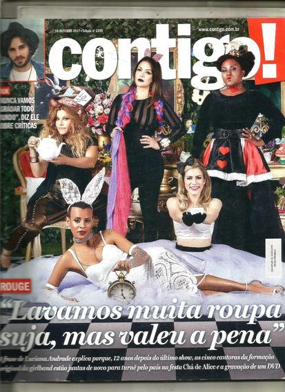 Revista Contigo 2195/17 - Rouge/grazi/fiuk/roberto/raul