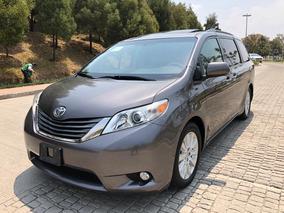 Toyota Sienna 2014 Xle Piel Dvd Puertas Eléctricas Nueva