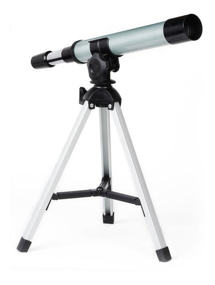 Mini Telescopio Refractor Explorador 300mm 30x Rex