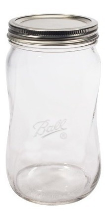 Frasco Spiral Elite Ball Mason Jar 28oz Boca Regular Tarro