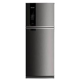 Geladeira Frost Free Duplex Brastemp Brm56ak Inox 462l 110v