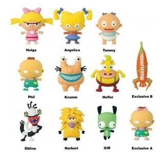 Llavero Sorpresa Nickelodeon Collector Keyrings Series 2