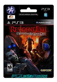 Ps3 Juego Resident Evil Operation Raccoon City Pcx3gamers