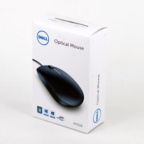 Mouse Óptico Dell - Ms116 (preto)