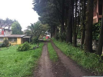 Terreno Venta Prol. Cruz Blanca, Cuajimalpa.