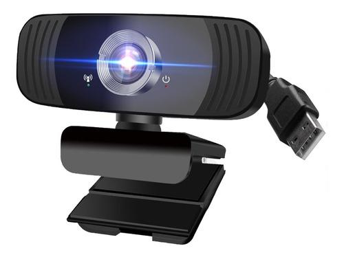 Imagen 1 de 10 de Cámara Web Usb Hd De 1080p Con Micrófono Para Computadora