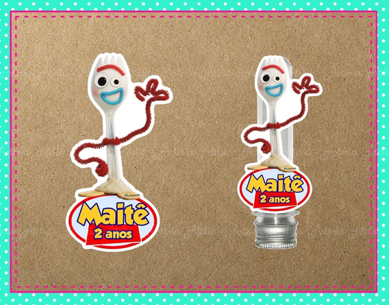 20 Aplique Tubete Tag Personalizados Lembrancinha Toy Story