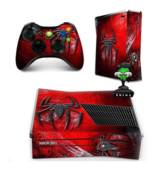 Skin Xbox 360 ( Fat / Slim / Superslim) Adesivo Com Verniz