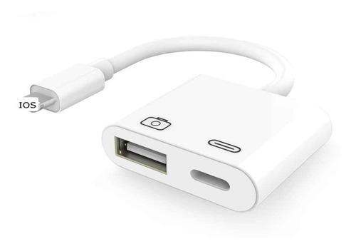 Adaptador  De Camara Otg Usb 3  Para  iPhone iPad Ios13