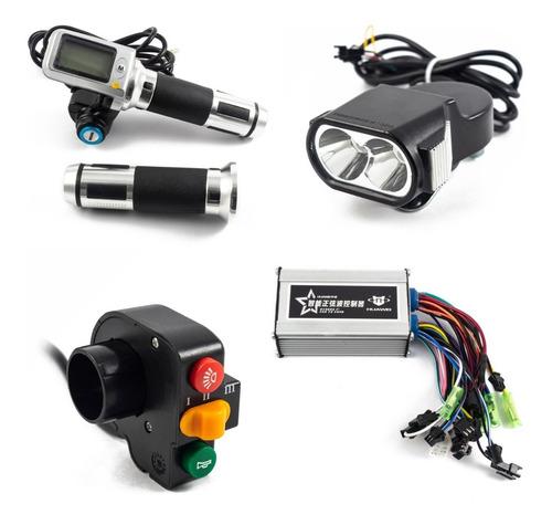 Kit Electrónico Para Bicicleta Eléctrica 36v