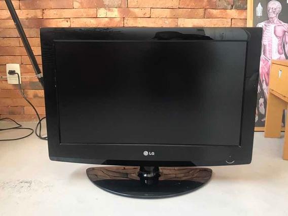 Tv Monitor LG 26 Perfeita 26lg30r Apenas Retirada Rio!!