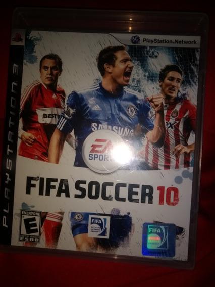 Jogo Fifa Soccer 10 Novo