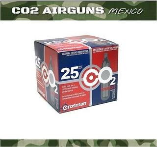 Tanques Marca Crosman De Co2 12gramos 25pz