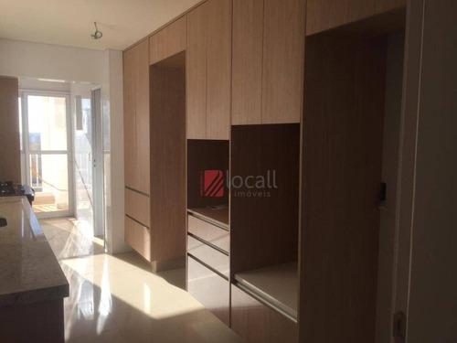 Apartamento Com 3 Dormitórios À Venda, 130 M² Por R$ 950.000,00 - Jardim Novo Mundo - São José Do Rio Preto/sp - Ap2262