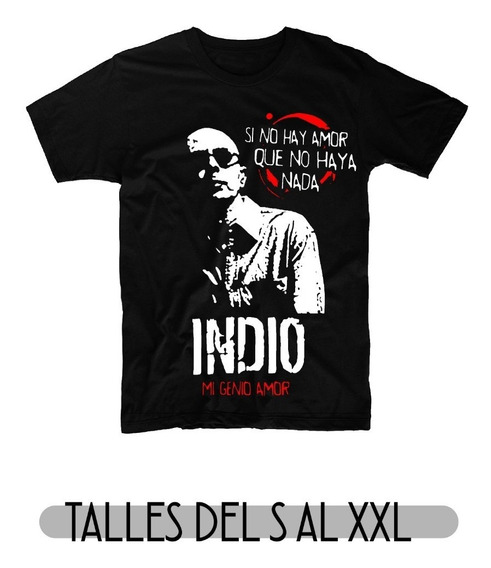 Remeras Indio Solari X 4