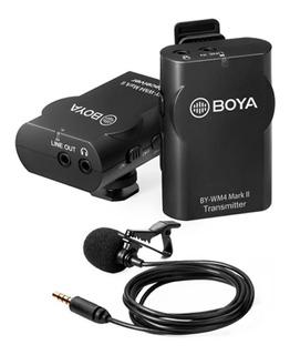 Microfono Corbatero Inalambrico Celular Dslr By Wm4 Mk2