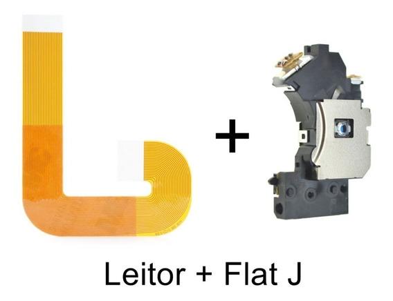 Leitor Óptico Pvr802w Ps2 Slim Unidade + Cabo Flat J 900xx