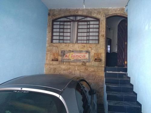 Sobrado Para Venda No Bairro Parque Continental Ii Em Guarulhos - Cod: Ai20349 - Ai20349