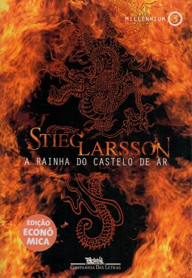 Livro A Rainha Do Castelo De Ar - Millennium 3