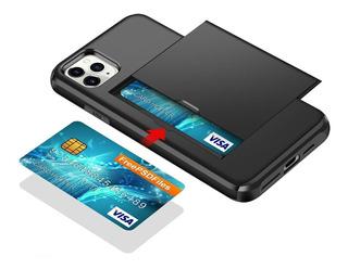 Capa Para iPhone 11 Pro Max Anti Impacto - Porta Cartão