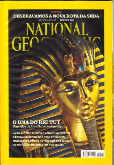 Revista National Geographic Egito Rei Tut - Setembro 2010