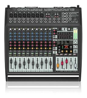 Consola Potenciada Behringer Pmp4000