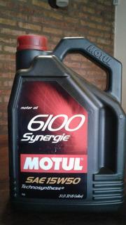 Aceite Motul 6100 Synergie 15w50 X 5lts
