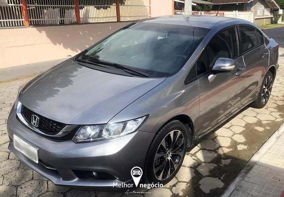 Honda Civic Sedan Lxr 2.0 Flex Aut. 2016 Cinza