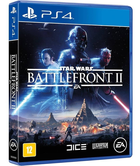 Jogo Star Wars Battlefront Ii Ps4 Original Disco Fisico Novo