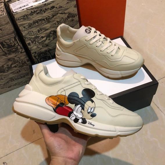 Tenis Gucci Mickey