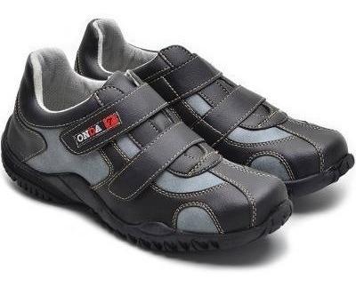 Sapatenis Tênis Fechamento Por Velcro Promoção
